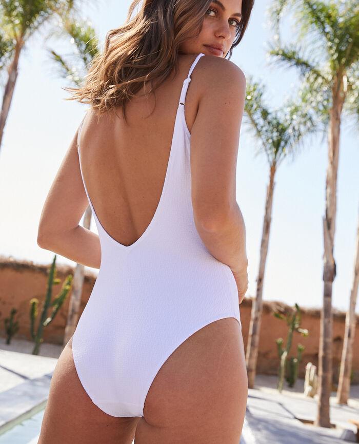 Badeanzug Weiß ALLURE
