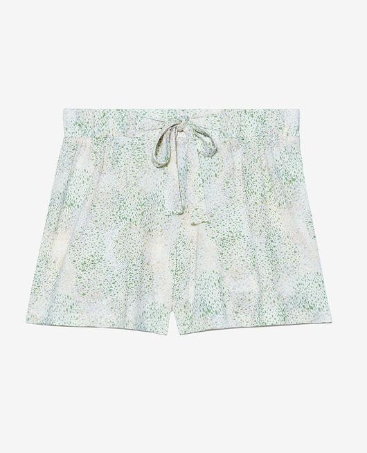 Pyjama-Shorts Pointillismus Elfenbein TAMTAM SHAKER