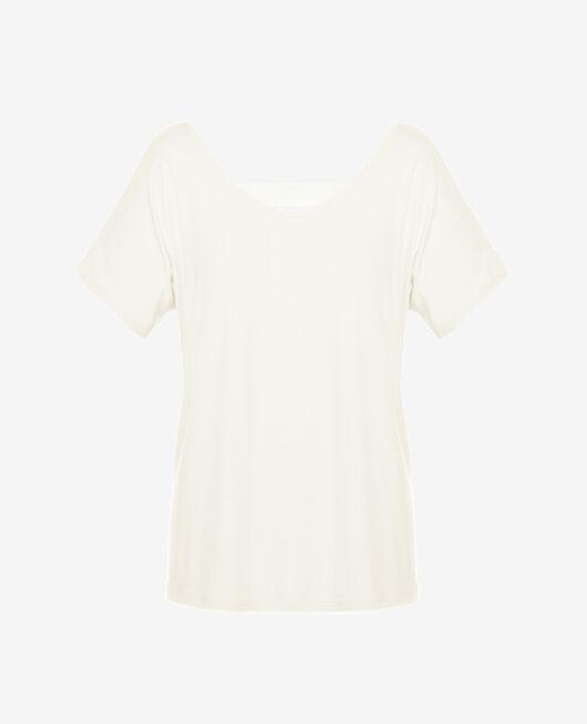 Sport-Shirt mit kurzen Ärmeln Elfenbeinfarben YOGA