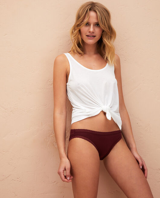 Low-cut Slip Cassis rot BASICS