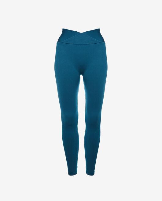 Sport-Leggings Jazz blau YOGA