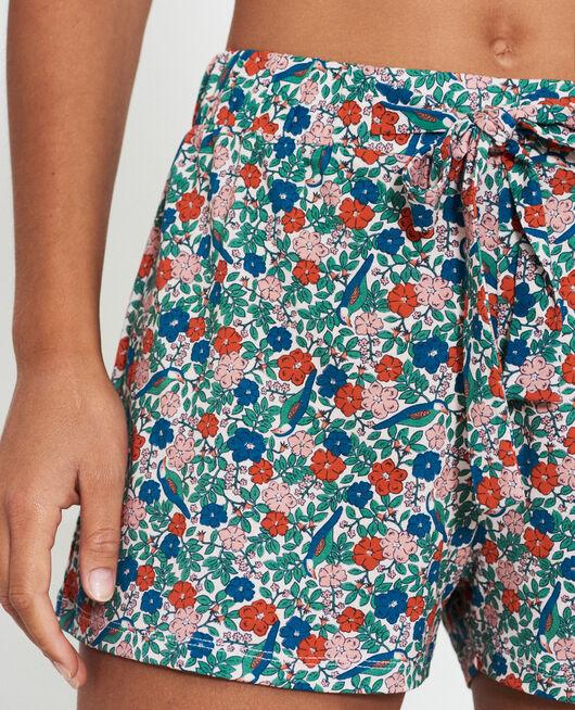Pyjama-Shorts Freiheit Beige Puder TAMTAM SHAKER