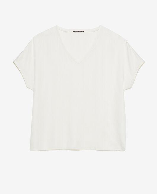 Kurzärmliges T-Shirt Weiß rosé ATTITUDE