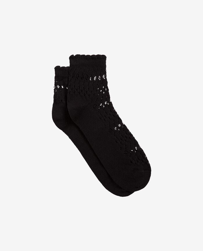 Socken Schwarz KAWAI