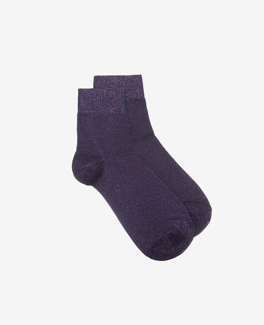 Socken Cabaret blau GLOW