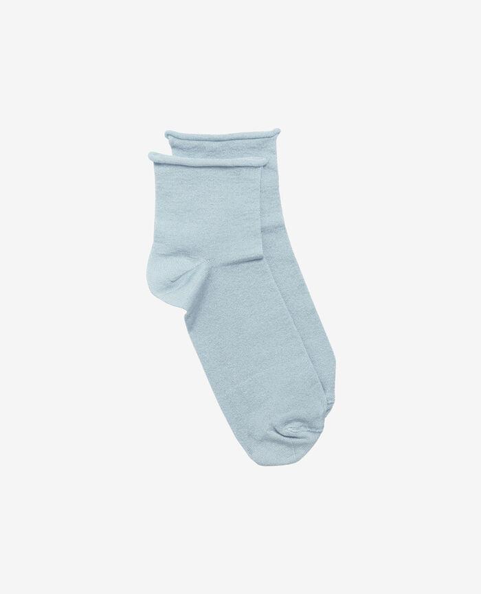 Socken Wolkenkratzerblau PEARL