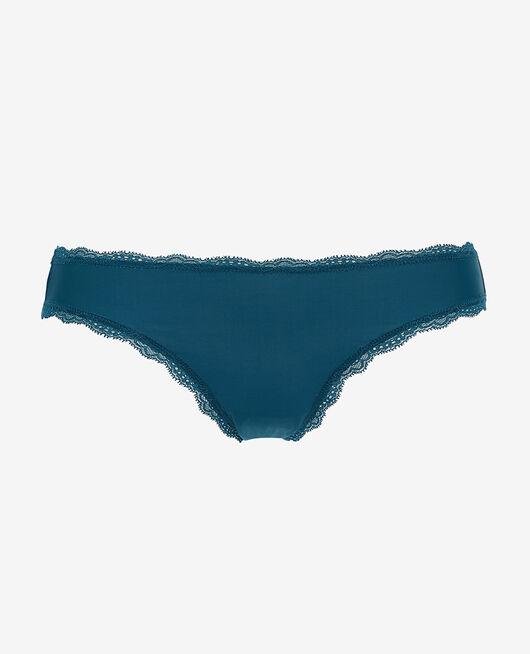 Low-cut Slip Jazz blau TAKE AWAY