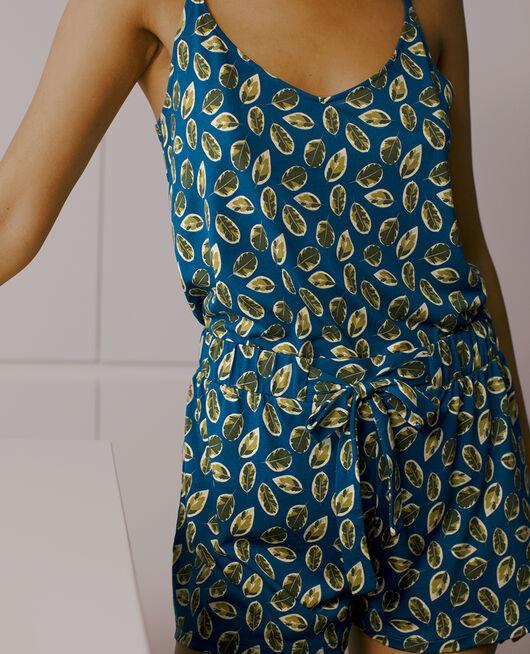 Pyjama-Shorts Ficus Sombreroblau TAMTAM SHAKER