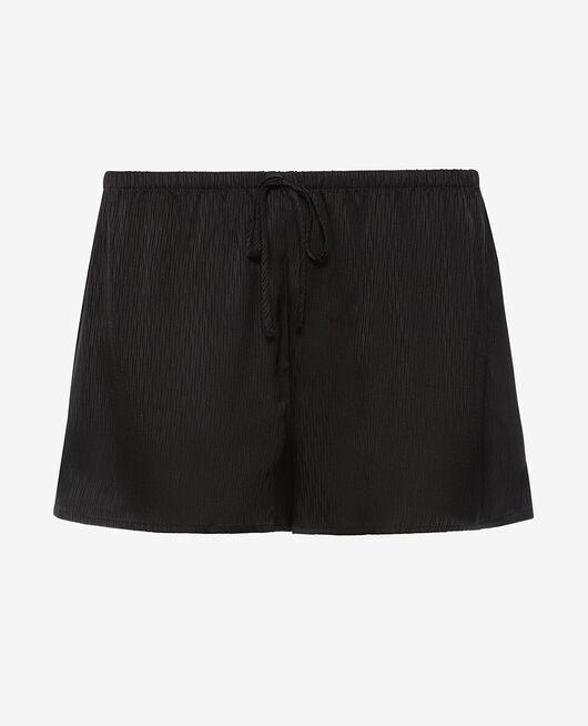 Pyjama-Shorts Schwarz FANCY