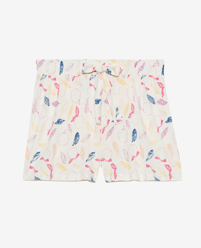 Pyjama-Shorts Nektarine Elfenbein TAM TAM SHAKER
