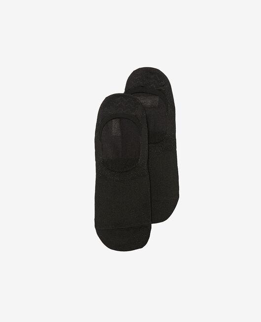 Socken Schwarz GLITTER