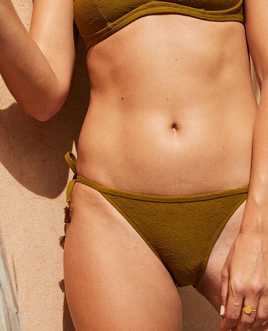 Bikinislip Grün bowie POMPON