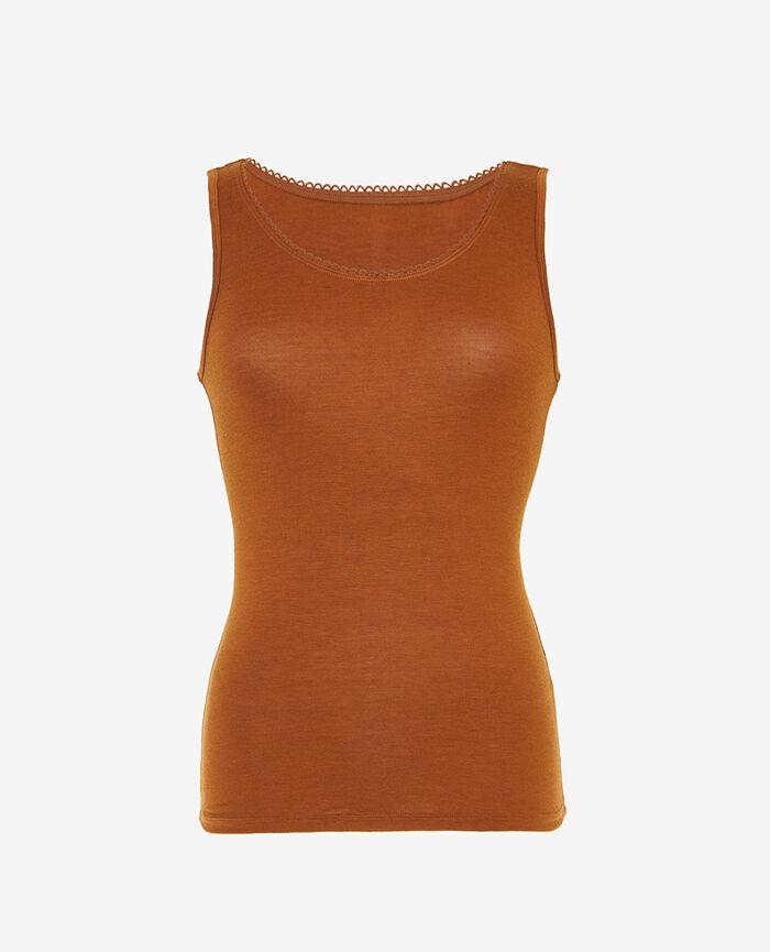 Ärmelloses T-Shirt Bronze INNERWEAR