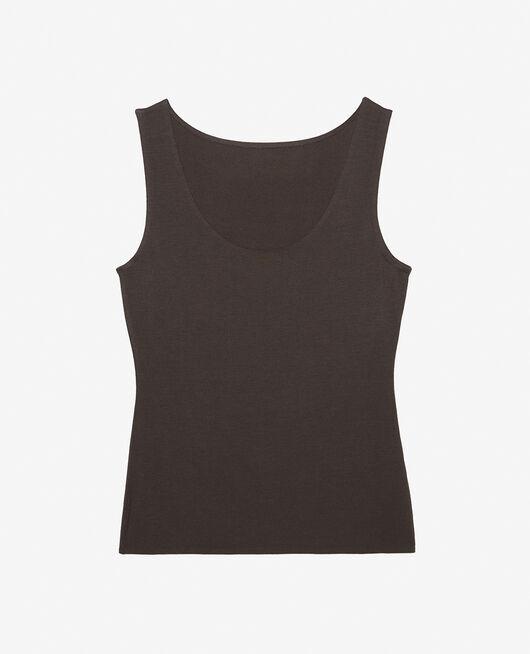 Ärmelloses T-Shirt Rauchgrau HEATTECH® INNERWEAR