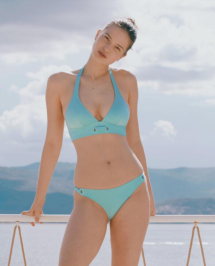 Gepolstertes Triangel-Bikini-Oberteil Mintgrün IMPALA