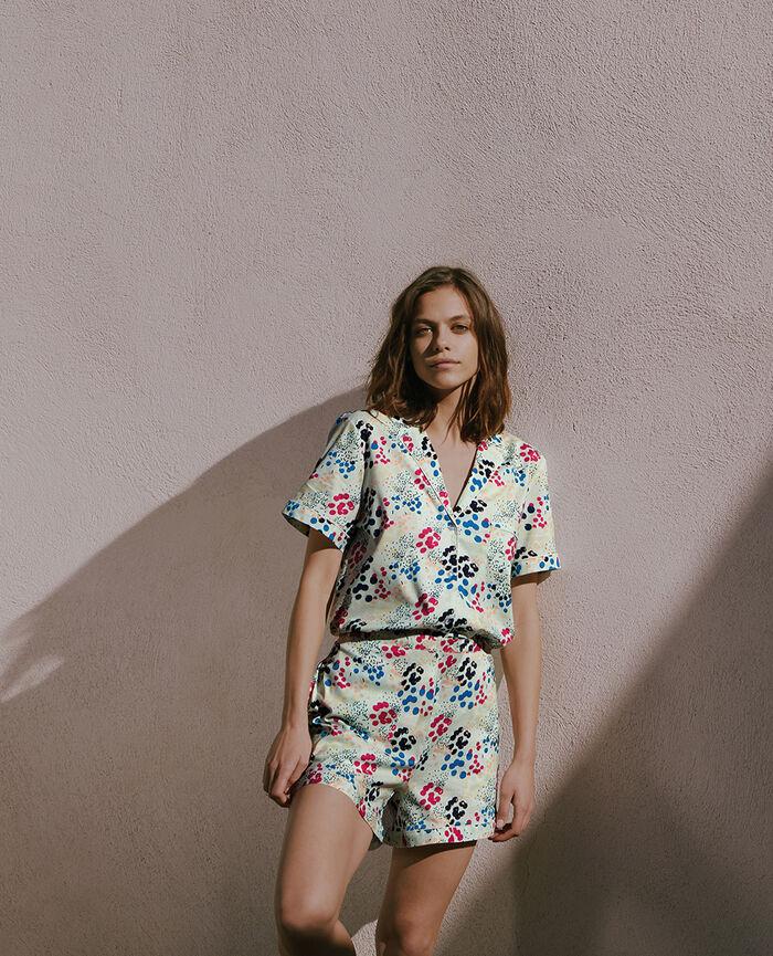 Pyjama-Set Konfetti Pastellgrün TUTTI FRUTTI