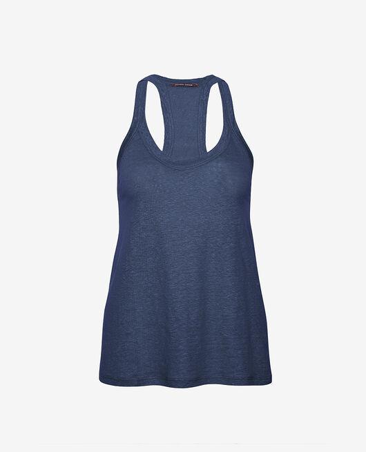 Ärmelloses T-Shirt Indigo CASUAL LIN