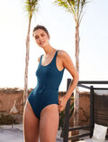 Badeanzug Sombrero Blau COUTURE