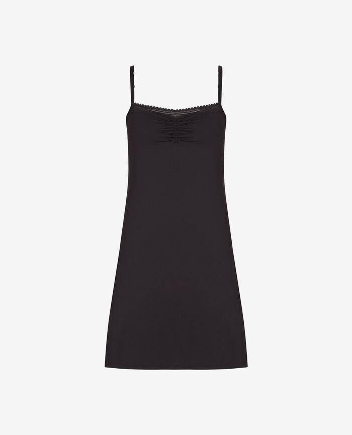 Kleid mit integriertem BH Schwarz BEAUTE