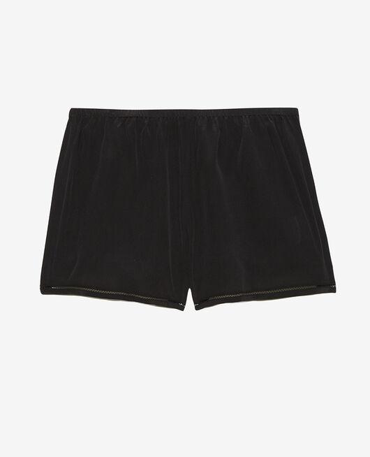 Pyjama-Shorts Schwarz CARESSE