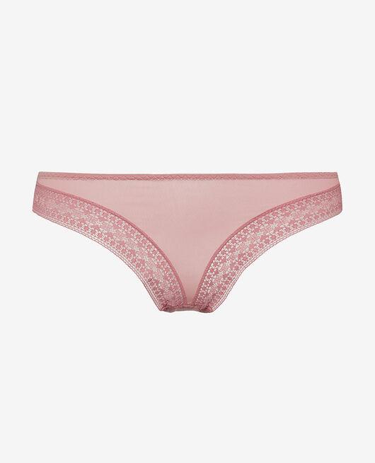 Low-cut Slip Tango rosa SIMONE