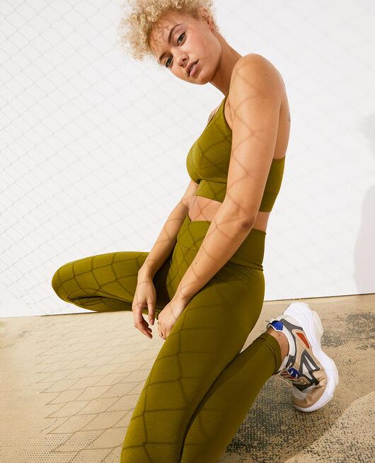 Sport-Leggings Grün bowie YOGA