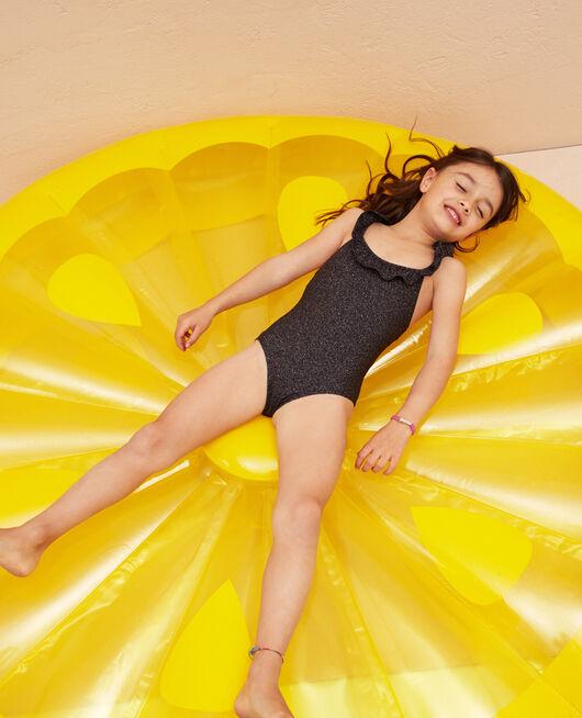 Kinder-Badeanzug Jeansblau MAKEDA