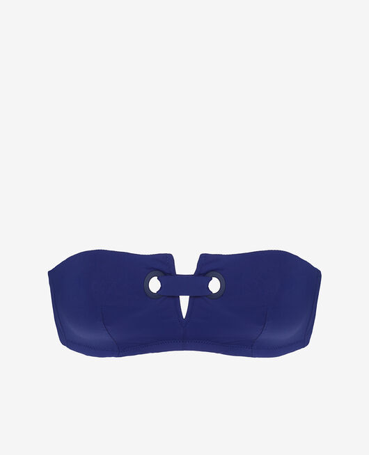 Bandeau-Bikini-Oberteil ohne Bügel Mascarablau IMPALA