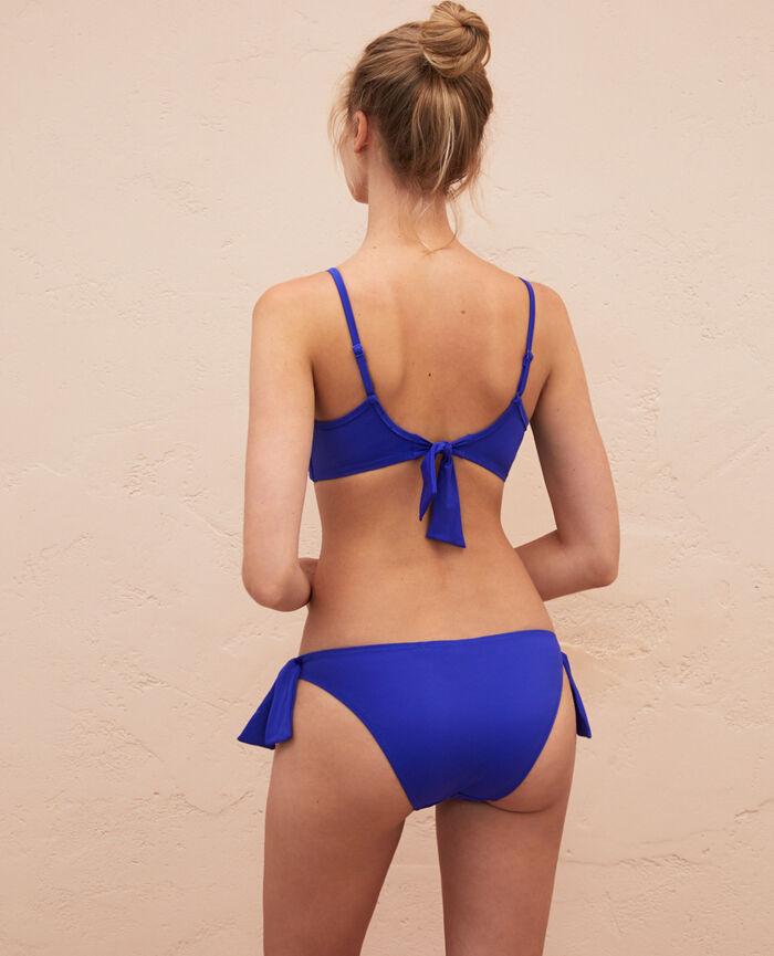 Bandeau-Bikini-BH ohne Bügel Mascarablau PRINCESSE TAM.TAM x UNIQLO