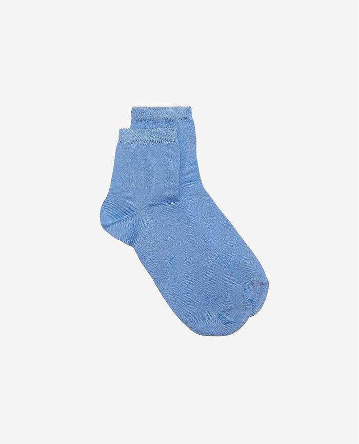 Socken Illusion Blau DIAMOND