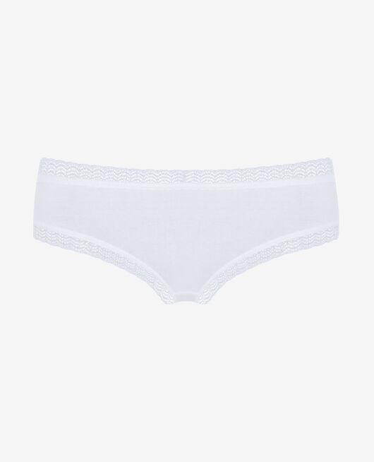Low-cut Slip Weiß BASICS