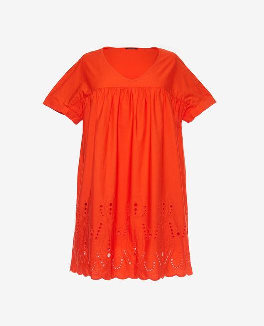 Kleid Blutorange SABBAH