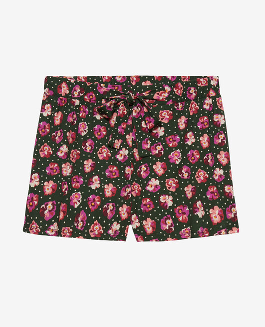 Pyjama-Shorts Gedanke Zypressengrün TAMTAM SHAKER