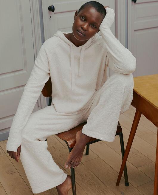 Sweatshirt mit Kapuze Weiß rosé VIP