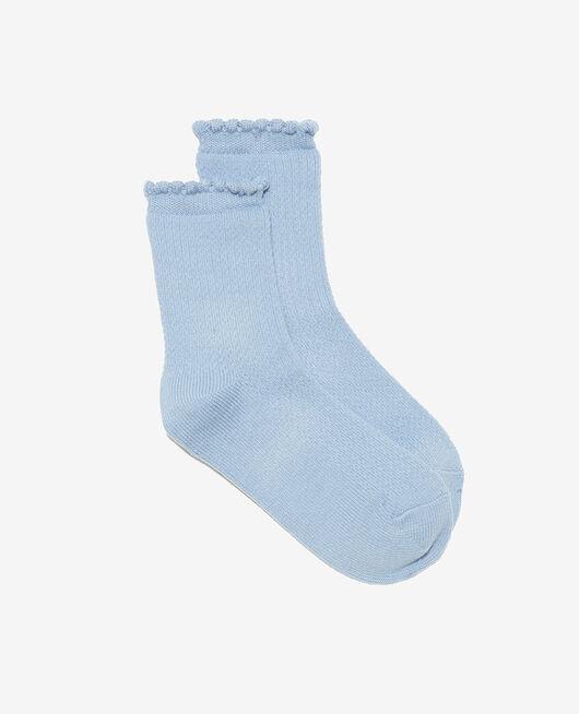 Socken Aschblau BALLET