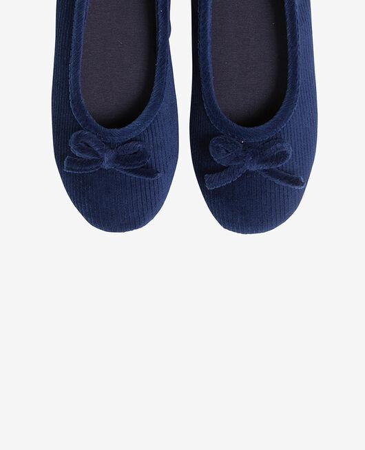 Pantoffeln Marineblau DANSEUSE