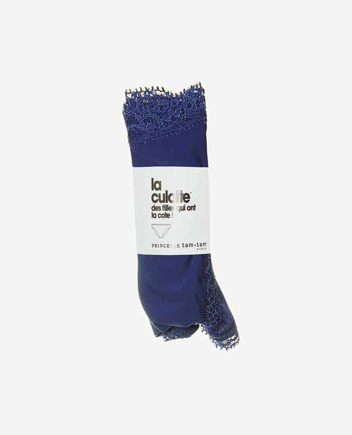 Low-cut Slip Gouache Blau TAKE AWAY