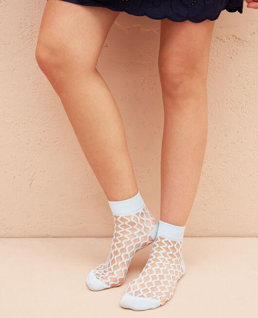 Socken Himmelblau MOSAIQUE