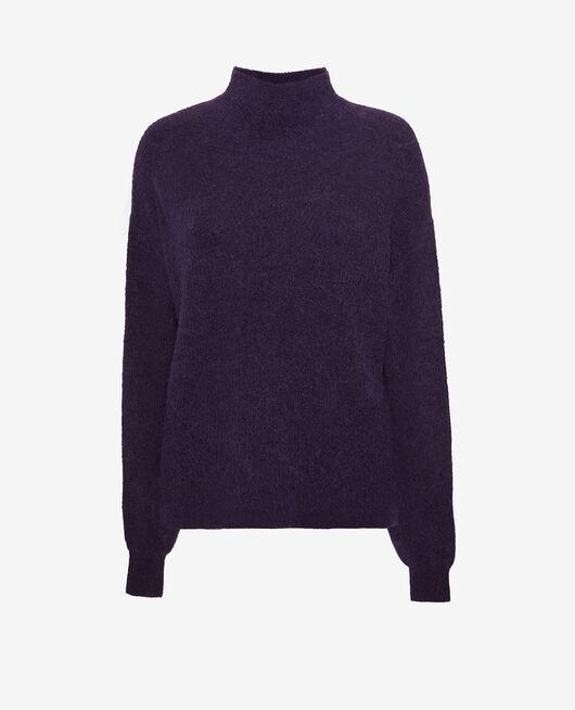 Pullover mit Stehkragen Cabaret blau WINTER