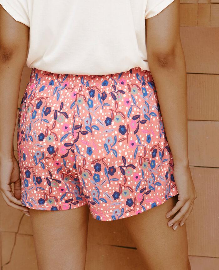 Pyjama-Shorts Myosotis Rosa TAMTAM SHAKER