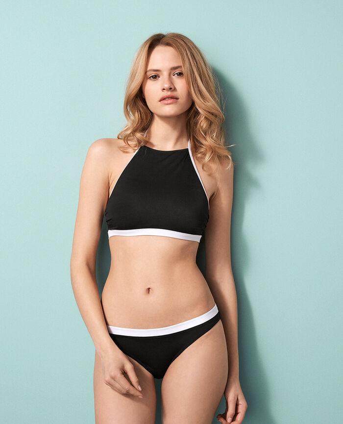 Bandeau-bikini-BH ohne bügel Schwarz PRINCESSE TAM.TAM x UNIQLO