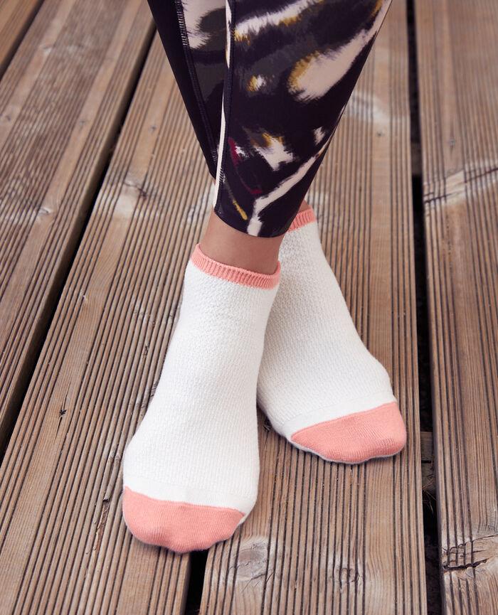 Sport-Socken Elfenbeinfarben SOCKS