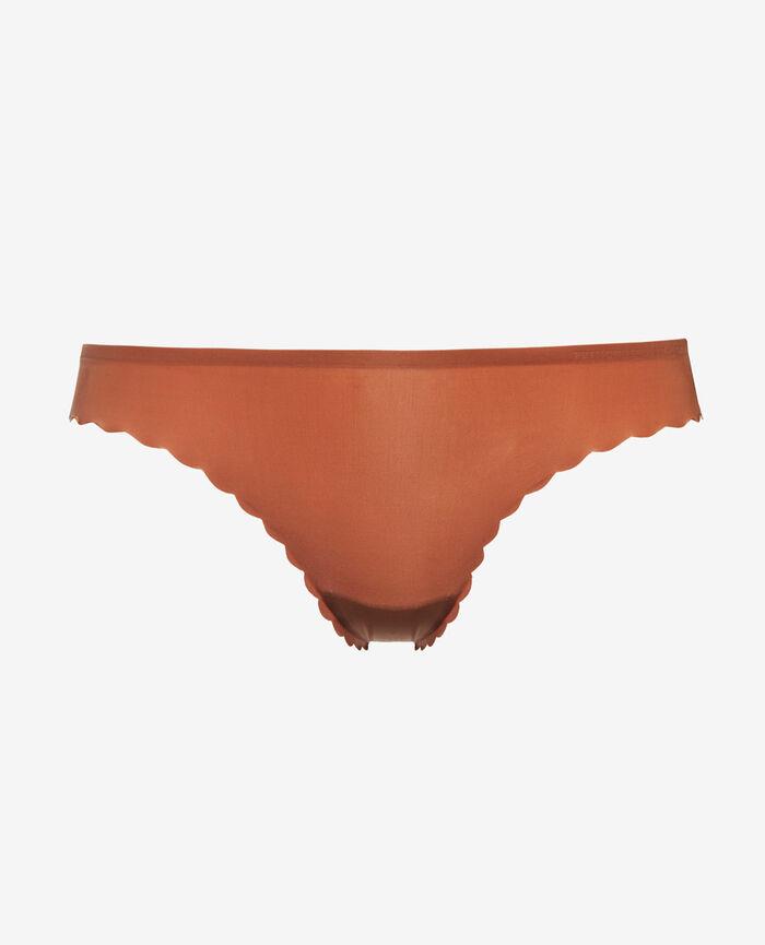 Low-cut Slip Muskatnuss Braun SECRET
