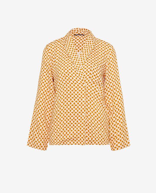 Pyjama-Jacke Geometrisch kreuzkümmel PYJMANIA