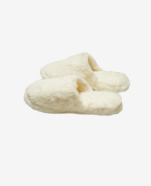 Pantoffeln Elfenbeinfarben OSCAR