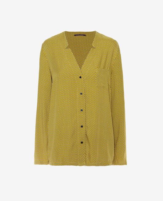 Pyjama-Jacke Gelbe Krawatte PICTURAL