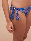 Ausgeschnittener Bikinislip Flower Blue PRINCESSE TAM.TAM x UNIQLO
