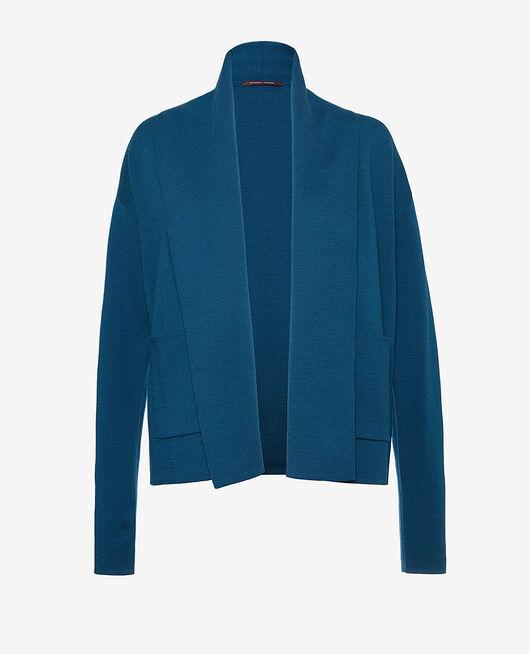 Langärmliger Cardigan Jazz blau SOFT