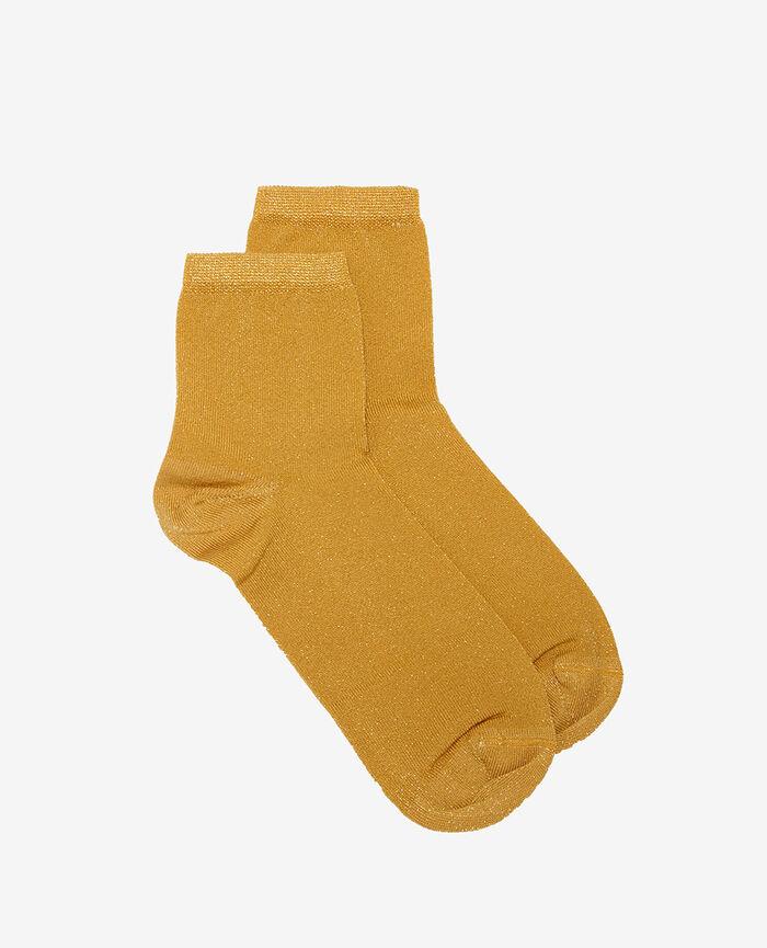 Socken Gelbgold DIAMOND