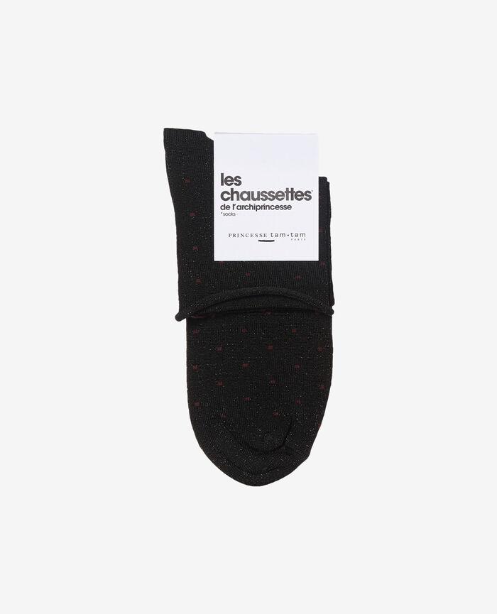 Socken Schwarz PETRA